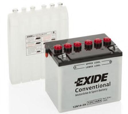 Аккумулятор   24Ah-12v Exide (12N24-3A) (184х124х175) R, EN220