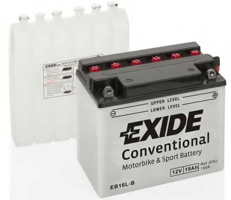 Аккумулятор   19Ah-12v Exide (EB16L-B) (175х100х155) R, EN190
