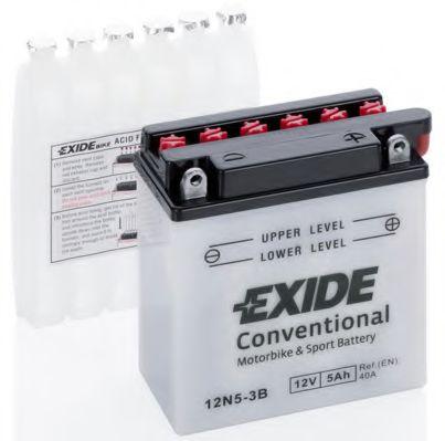 Аккумуляторы Стартерная аккумуляторная батарея EXIDE арт. 12N53B