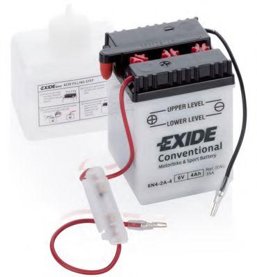 Аккумуляторы Стартерная аккумуляторная батарея EXIDE арт. 6N42A4