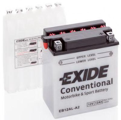 Аккумуляторы Аккумулятор   12Ah-12v Exide (EB12AL-A2) (134х80х160) R, EN165                                        арт. EB12ALA2