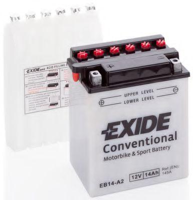 Аккумуляторы Аккумулятор   14Ah-12v Exide (EB14-A2) (134х89х166) L, EN145                                          арт. EB14A2