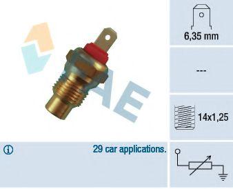 Температурный датчик охлаждающей жидкости  арт. 31590