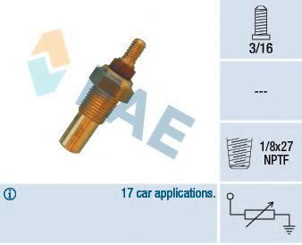 Температурный датчик охлаждающей жидкости  арт. 32020