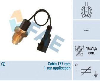 Температурный датчик охлаждающей жидкости  арт. 32610