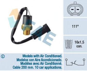 Датчик включения вентилятора термовыключатель, сигнальная лампа охлаждающей жидкости FAE арт. 35842