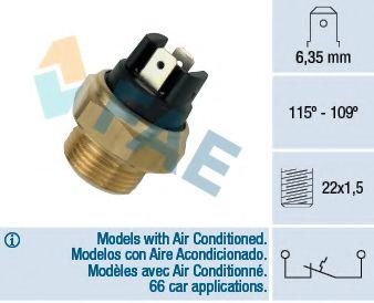 Датчик включения вентилятора MB Vito (638) 96-03 (2 конт.) 115-109°C  арт. 36280