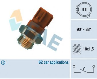 Датчик включения вентилятора  арт. 36440