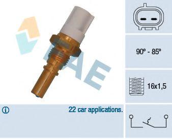 Датчик включения вентилятора FAE 36545