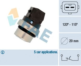 Датчик включения вентилятора FAE 36700