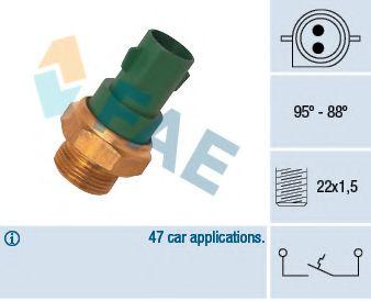 Датчик включения вентилятора FAE 37240