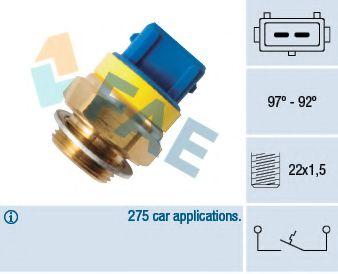 Датчик включения вентилятора FAE 37580
