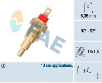 Датчик включения вентилятора FAE 37610