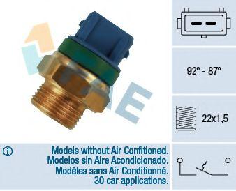 Датчик включения вентилятора FAE 37680