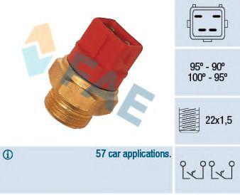 Датчик включения вентилятора  арт. 37960