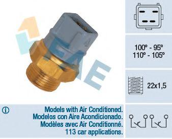 Датчик включения вентилятора FAE 37970