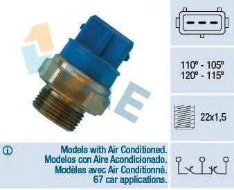 Датчик включения вентилятора FAE 38330
