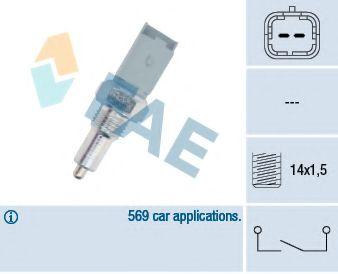 выключатель сигнала заднего хода C/P разьем малый/винт длинный  арт. 40492