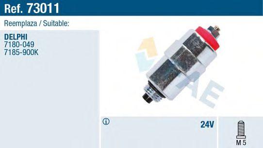 Электромагнитный клапан ТНВД Стопорный механизм, система впрыска FAE арт. 73011