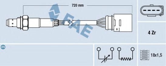Лямбда-зонд FAE 77139