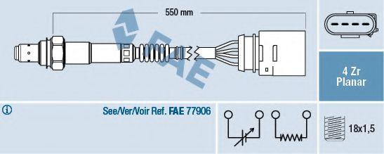 Лямбда-зонд FAE 77148