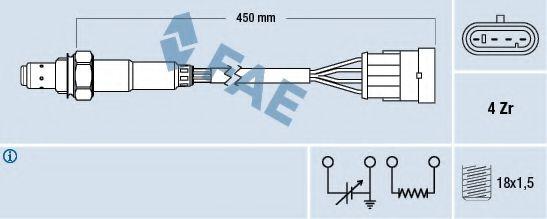 Лямбда-зонд  арт. 77159