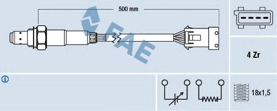 Лямбда-зонд  арт. 77232