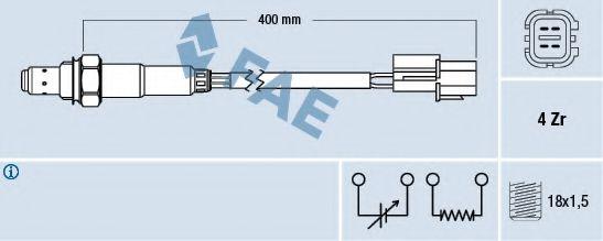 Лямбда-зонд FAE 77290