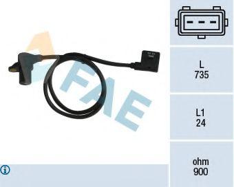 Датчик коленвала BMW 3 (E36), 5 (E34) 2.0/2.5 FAE 79038