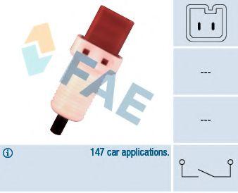 Датчик педали тормоза Fiat Scudo/Peugeot Expert 1.6-2.2D 96- (2 конт.)  арт. 24896