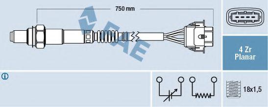 Лямбда-зонд FAE 77308