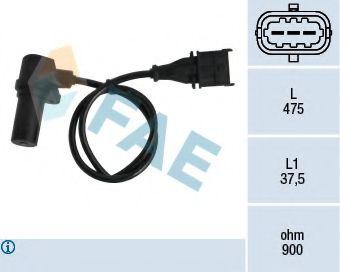 Датчик положения коленвала Fiat Doblo 1.9JTD 01-  арт. 79060