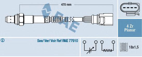 Лямбда-зонд FAE 77402