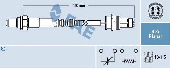 Лямбда-зонд  арт. 77408