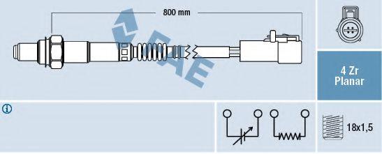 Лямбда-зонд  арт. 77431