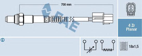 Лямбда-зонд  арт. 77450