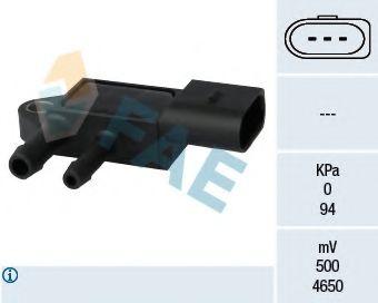 Датчик давления выхлопных газов Датчик давления выхлопных газов VW T5 2.5TDi 4motion/Passat 1.9/2.0TDI 05- FAE арт. 16103