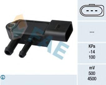 Датчик давления выхлопных газов Датчик давления выхлопных газов VW Caddy/T5/Crafter 1.6/2.0TDi 09- FAE арт. 16109