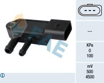 Датчик давления выхлопных газов Датчик давления выхлопных газов VW Caddy III 1.9/2.0TDi 04-10 FAE арт. 16112