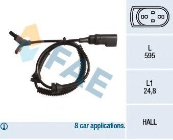 Датчик ABS (передний) Ford Transit/Connect 1.8TDCi 02-13  арт. 78152
