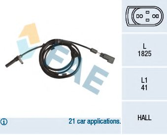 Датчик ABS (задний) Ford Transit 2.2-3.2TDCi 06- R  арт. 78259