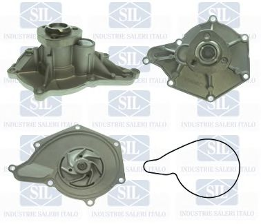 Водяной насос A4/A5/A6/A8/Q5 2.8/3.2 FSI 06- SALERISIL PA1446