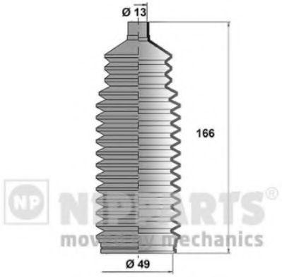 Пыльник рулевой рейки NIPPARTS J2840900