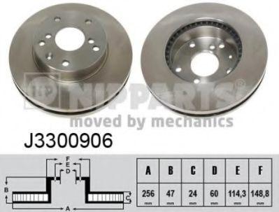 Тормозной диск  арт. J3300906