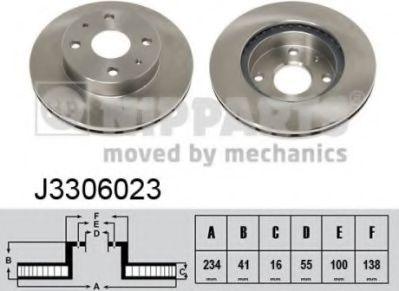 Тормозной диск  арт. J3306023