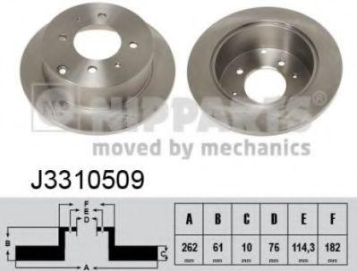 Тормозной диск  арт. J3310509
