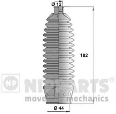Пыльник рулевой рейки NIPPARTS N2854010