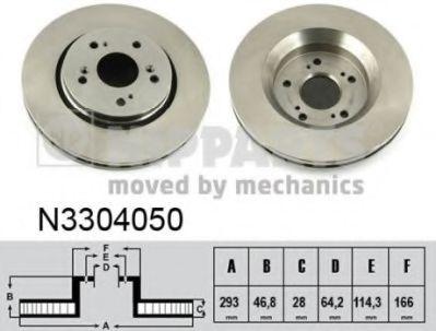Тормозной диск  арт. N3304050