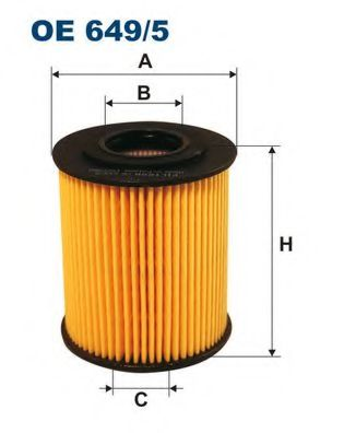Oil filter filtron OE6495