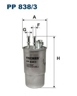 Фільтр палива FILTRON PP8383